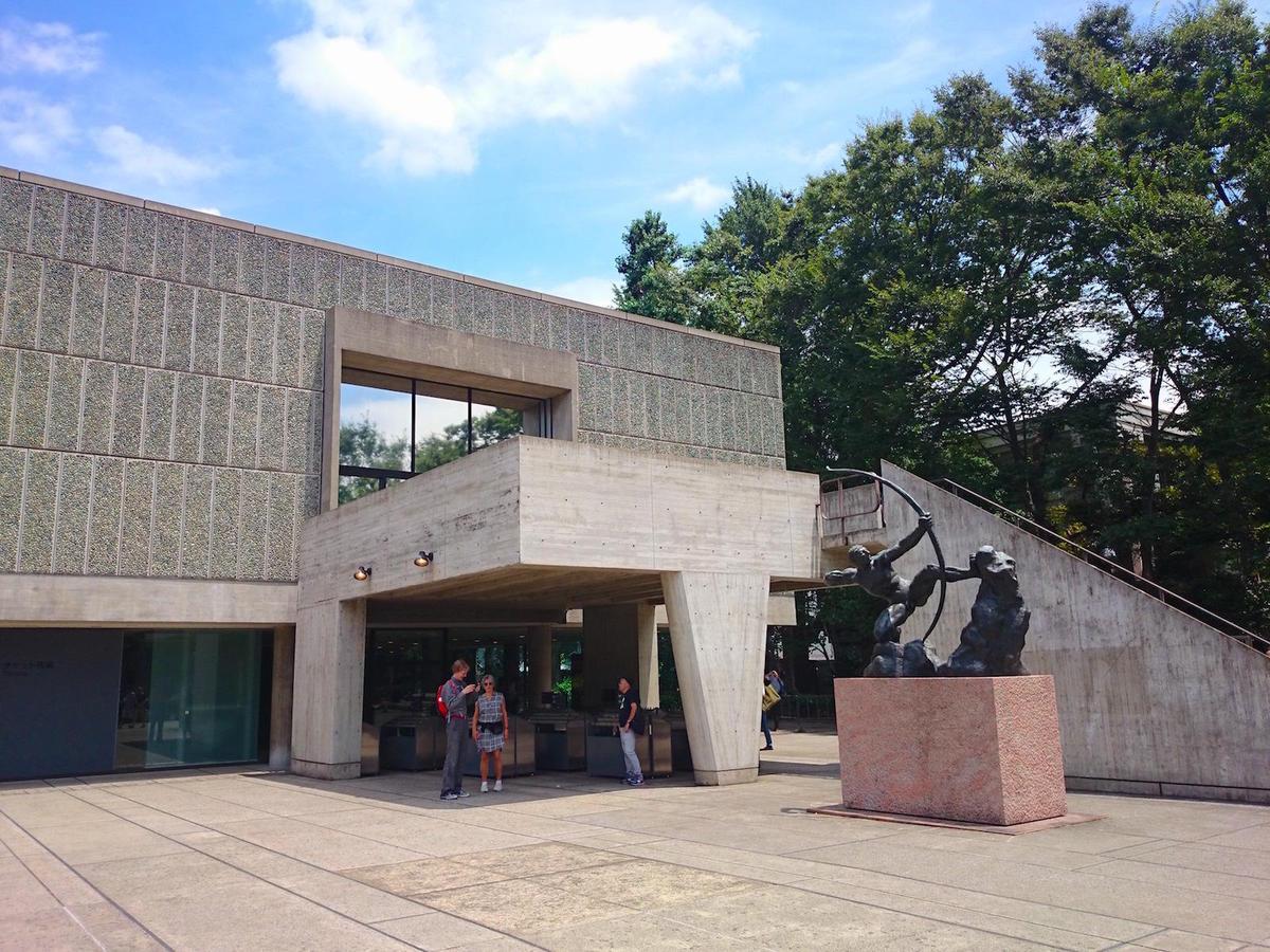 国立西洋美術館・エントランス