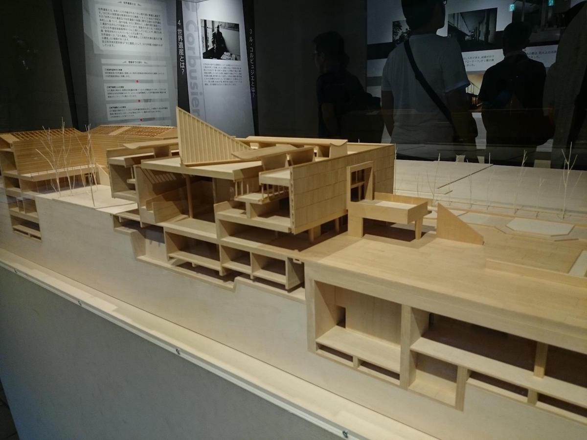 国立西洋美術館・建築模型