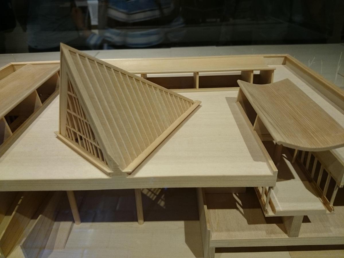 国立西洋美術館・建築模型-接写