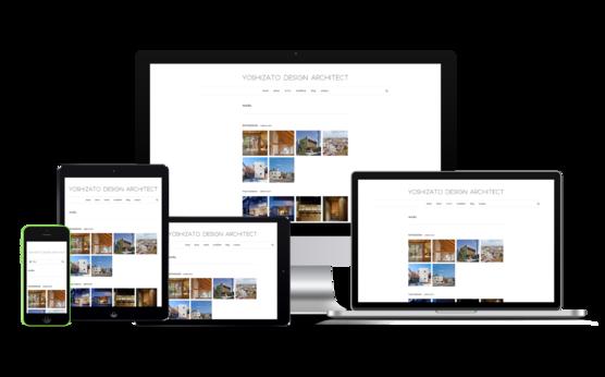 WordPress カスタマイズ; 建築デザイン事務所